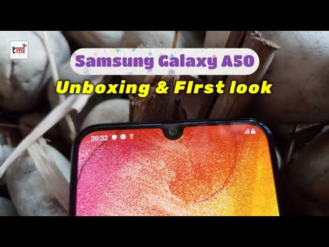 Samsung Galaxy A50: Unboxing and 1st Impression