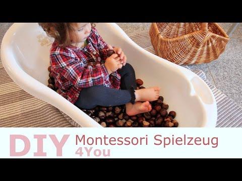 Spielideen für Kleinkinder | Montessori Material selber machen | Rebekka