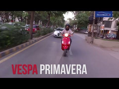Vespa Primavera  – Owner's Review: Price, Specs & Features | PakWheels