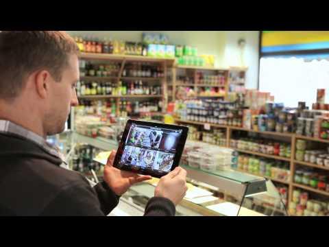 ABUS HD Überwachung Set (IP Überwachungskameras, IP Rekorder & App)