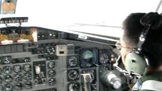 C-1コクピット美保基地体験搭乗2010年9月26日