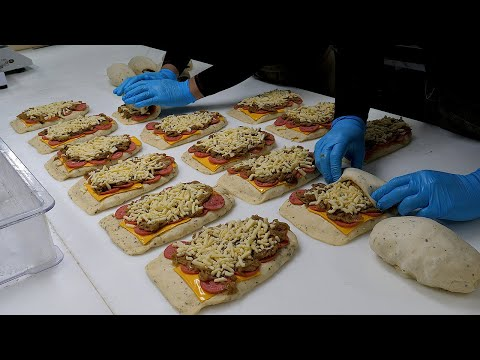 cheese bomb bread – korean street food