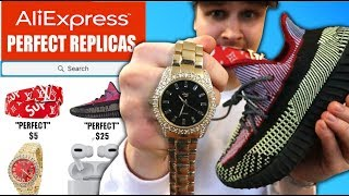 """I Baught The CHEAPEST ITEMS That Will """"PASS AS LEGIT"""" On AliExpress (IS IT TRUE?!)"""