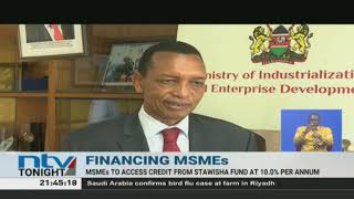 Small business to access credit from Stawisha Fund at 10.0% per annum