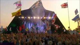 Faithless ♪ We Come 1 ♪  Live @ Glastonbury HD