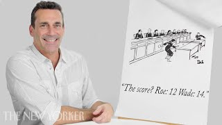 Jon Hamm Enters The New Yorker Cartoon Caption Contest | The New Yorker