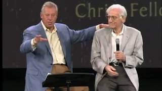 John C Maxwell and his Dad at Christ Fellowship