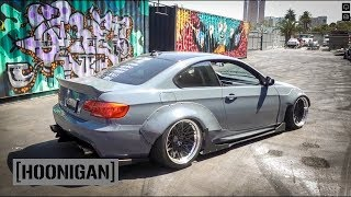 [HOONIGAN] DT 111: Street Fighter LA 500hp BMW E92 vs Sh*tcar #SPACERACE