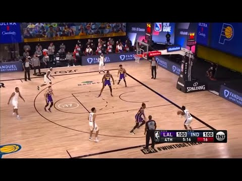 #nba LAKERS VS PACERS / AUGUST 9,2020