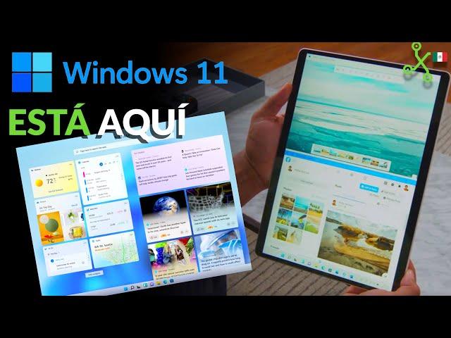 WINDOWS 11 OFICIAL: todas las novedades, requisitos y fecha de actualización en 3 MINUTOS