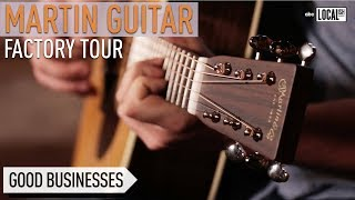 How Guitars Are Made At The Martin Guitar Factory   Secretly Awesome