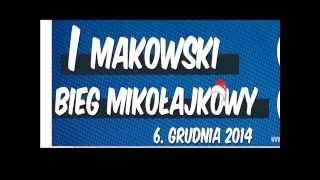 preview picture of video 'I Makowski Bieg Mikołajkowy Maków Mazowiecki'