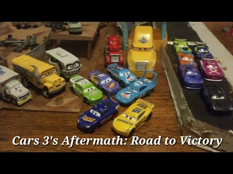 Cars 3's Aftermath: Road To Victory (300 Subscriber Stopmotion Special)