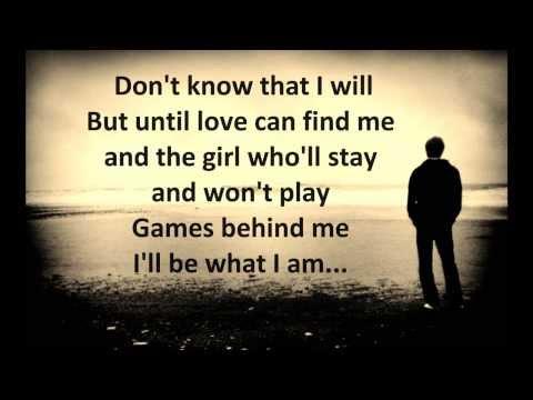 Solitary Man - Johnny Cash - Lyrics HD