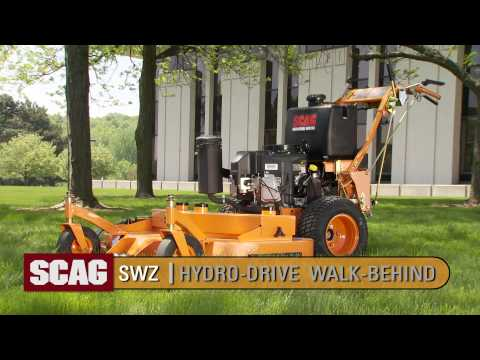 2019 SCAG Power Equipment SWZ Hydro-Drive Large Frame Walk Behind Kawasaki 61 in. 22 hp in Chillicothe, Missouri - Video 1