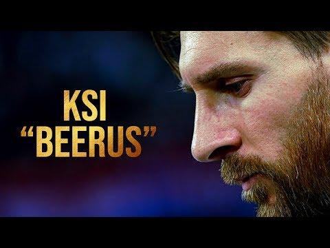 KSI & Randolph ft Messi - Beerus   Destructive Dribbling Skills & Goals