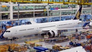 Boeing 787-9 Üretimi