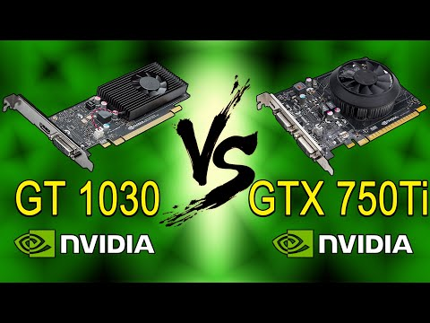 GT 1030 vs GTX 750 Ti - Best Budget Graphics Card For Gaming? (10