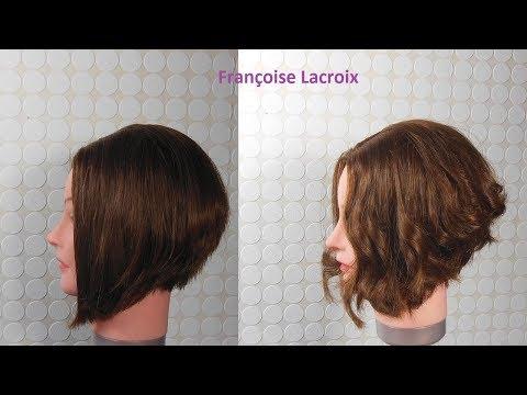 Coupe De Cheveux Carré Plongeant Layered Graduated Bob Haircut
