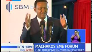 Machakos county set to introduce a fund to help the youth and women access funding for SMEs