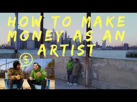HOW TO MAKE MONEY AS AN ARTIST 💸🖌