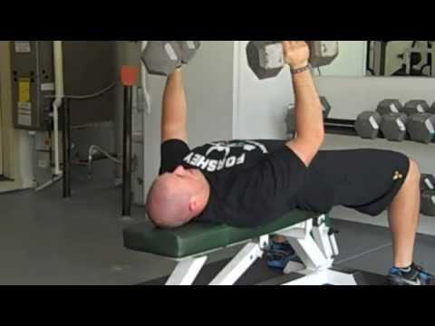 Dumbbell Bench Press Twist Every 3rd