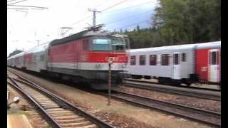 preview picture of video 'OeBB - Koleje w Austrii - Westbahn'