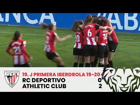 ⚽ Resumen I J19 Primera Iberdrola I RC Deportivo 0-2 Athletic Club I Laburpena