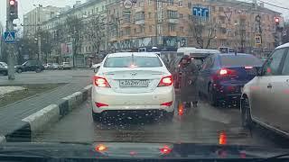Аварии на дороге, приколы на дороге 2018 1