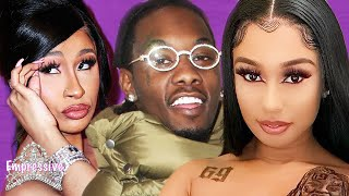 Offset's Former Side Chick Exposes Him!   Cardi B And Offset Attempt To   It Up?
