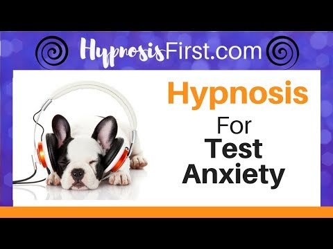 Hypnosis for test anxiety and study skills