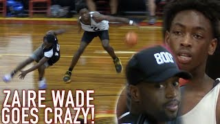 Zaire Wade BREAKING ANKLES IN 1ST HIGHSCHOOL GAME Infront of Dwyane Wade! GOES OFF for 26!