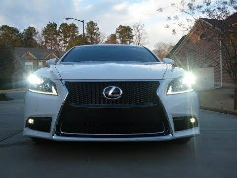 Lexus LS 460 F SPORT - Luxury & Performance Defined