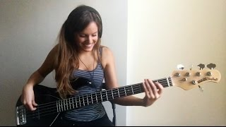 Bruno Mars   Chunky (live) [Bass Cover]