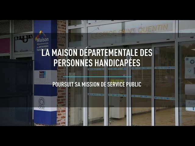 MDPH : les missions de service public continuent pendant le confinement