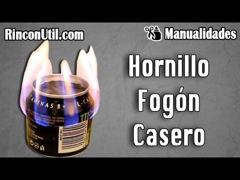 Hornillo casero ó Fogón casero | Calentador casero