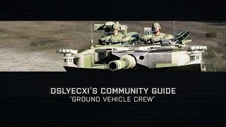 Community Guide: Ground Vehicle Crew