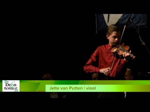 VIDEO | Jelte van Putten op viool en Liesbeth Seppenwoolde op piano