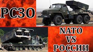 НАТО против России обзор РСЗО + Китай, Бразилия и Индия