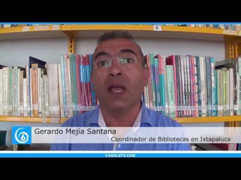 Anuncian cursos de verano en bibliotecas de Ixtapaluca