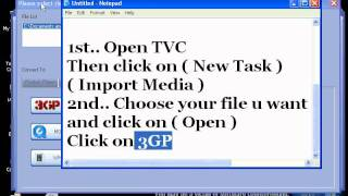 How to convert video file in 3GP in Total Video Converter + Link