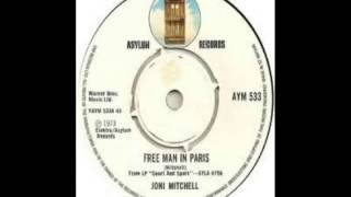 Joni Mitchell - Free Man In Paris (1974)