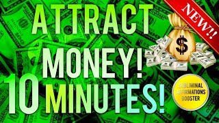Gambar cover 🎧 ATTRACT MONEY & WEALTH IN 10 MINUTES! SUBLIMINAL AFFIRMATIONS BOOSTER! REAL RESULTS DAILY!