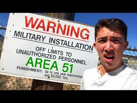 Spending 24 Hours In Area 51 - Challenge