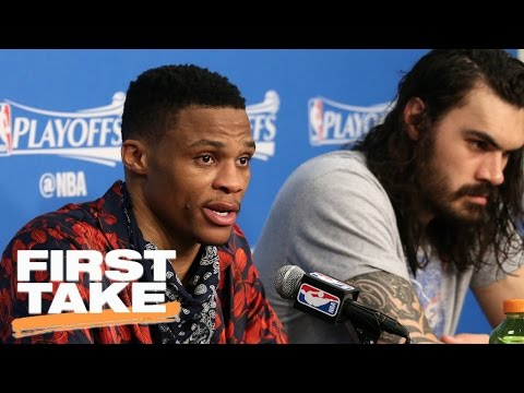 Stephen A. Sides With Reporter Over Russell Westbrook | First Take | April 24, 2017