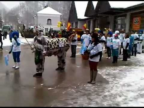 Video: Faschingsumzug 2013 in Wildalpen (Olympiade-Marsch)