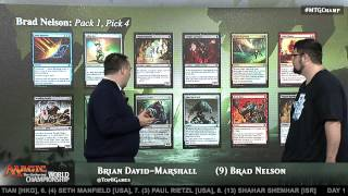 2015 Magic World Championship: Draft Viewer with Brad Nelson