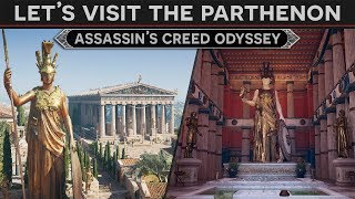 Let's Visit the Parthenon - History Tour in AC: Odyssey Discovery Mode