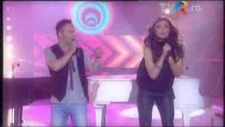 PAULA  SELING & OVI - PLAYING WITH FIRE (Eurovision Romania 2010) clip de promovare
