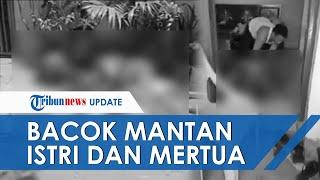 Detik-detik Pria Bacok Mantan Istri dan Mertua di Makassar, Pelaku Ditembak Mati karena Bacok Polisi